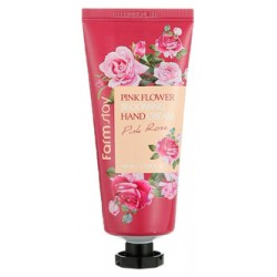 Крем для рук FarmStay Pink Flower Blooming Hand Cream 100ml Pink Rose