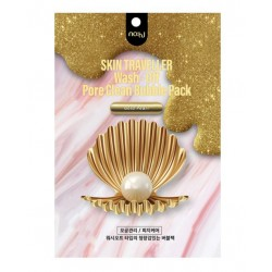 Маска Nohj Skin Traveller Wash-Off Black Head Bubble Pack (Gold Pearl)
