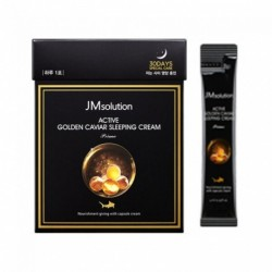 Ночной крем JMSolution Active Golden Caviar Sleeping Cream 4ml