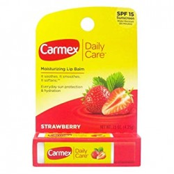 Бальзам для губ Carmex Moisturizing Lip Balm Stick Strawberry SPF15