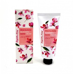 Крем для рук FarmStay Pink Flower Blooming Hand Cream 100ml Cherry Blossom