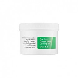 Успокаивающие диски Cosrx One Step Green Hero Calming Pad 70ea