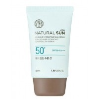 Солнцезащитный крем The Face Shop Natural Sun Eco No Shine Hydrating Sun Cream SPF50/PA+++ 50ml