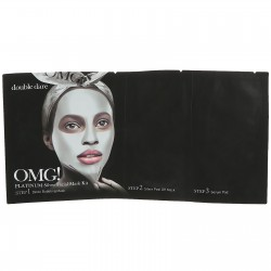 Маска Double Dare OMG! Platinum SILVER Facial Mask Kit